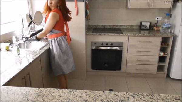 Mommy Role Play In The Kitchen HD