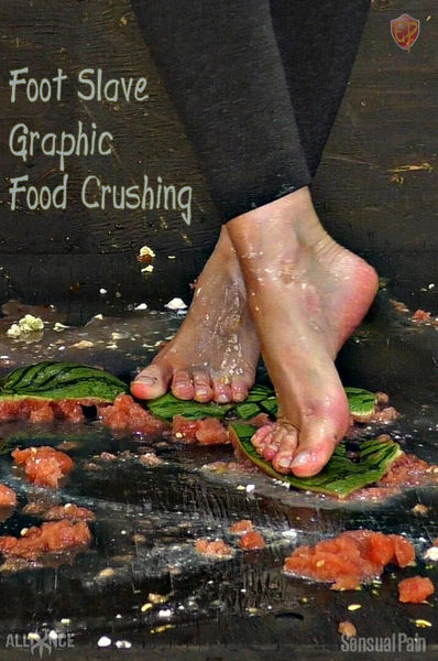 Foot Slave Graphic Food Crushing with Abigail Dupree | Full HD 1080p | Release Year: May 22, 2019