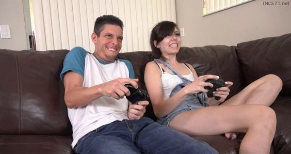 Becca Pierce Playing With Stepbros Joystick HD [Untouched 1080p]