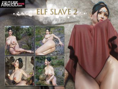 [3D Porn Comic] [Jared999D] Elf Slave Part 2 [rape]