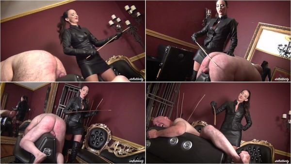 Heavy Dungeon Caning [FetishMania] Stella Liberty (1080p)