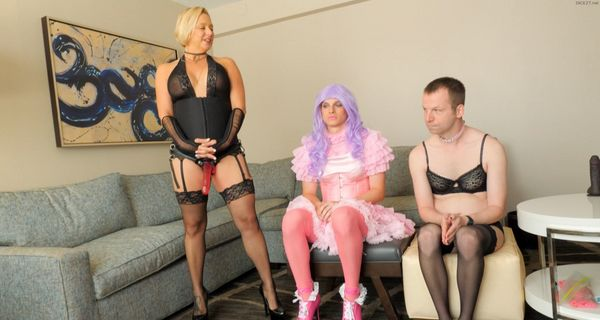 Brianna Uses Nephew To Help Train Son To Become A Better Sissy HD