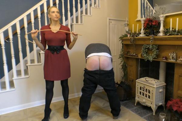 Governess spanks