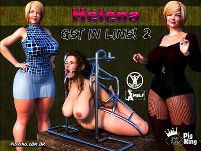 [3D Porn Comic] [PigKing] Helena – Get in Line Part 2 [slavegirl]