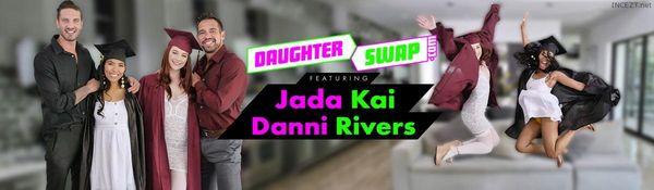 Graduation Daughter Bangers – Danni Rivers And Jada Kai HD [Untouched 1080p]