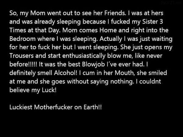 THE GREATEST Blowjob of my Life from my Mother!