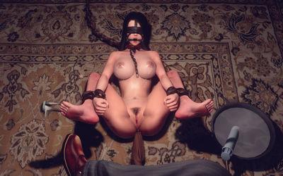 Art by Eifrost [3D Hentai Artwork] slavegirl